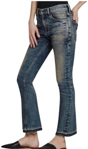 Citizens of Humanity Flare Leg Jeans-Distressed