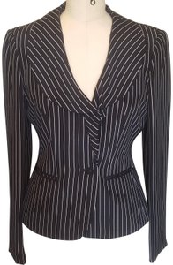 Jones New York Pinstripe Silk Suit