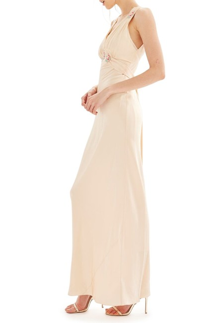 Topshop Embroidered Silk Wedding Classy Dress Image 4