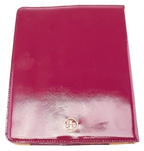 Tory Burch Tory Burch Burgundy Patent Leather Tablet Case (36310)