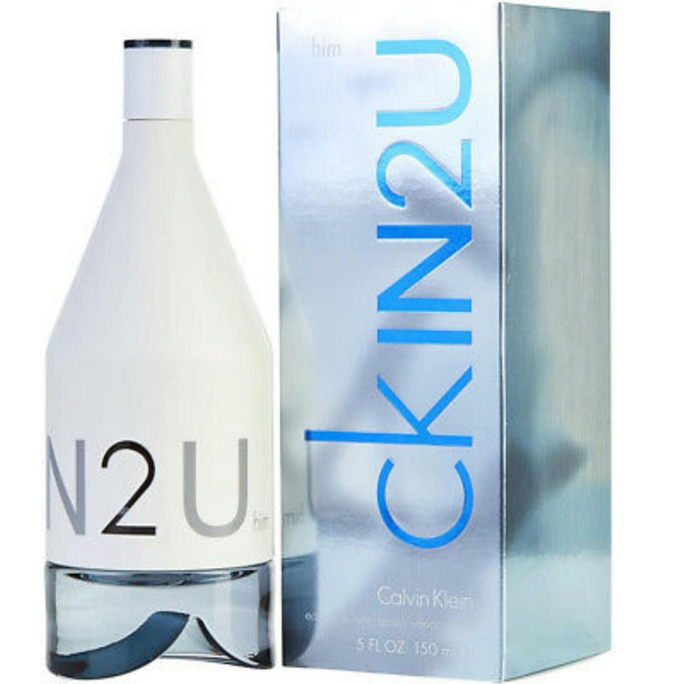 Introducing ck IN2U by Calvin Klein. Two new fragrances, one for him, one  for her. ck IN2U her is a fresh floriental, combining notes of pink  grapefruit, ...
