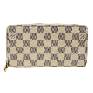Louis Vuitton Signature Damier Azur Canvas Zippy Organizer Wallet