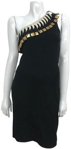 Temperley London short dress black Agnelli Studs on Tradesy