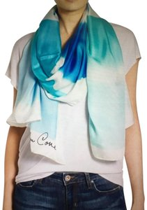 Kate spade scarves on sale up to 90 off at tradesy kate spade nwt blue ocean colors silk scarf sciox Image collections