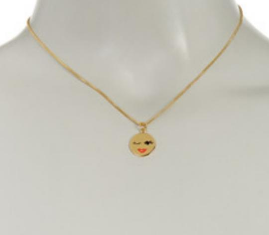 Kate Spade Gold Plated What a Flirt Necklace