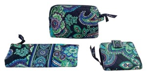 Vera Bradley Vera Bradley cosmetic, wallet and makeup brush/utility bags.