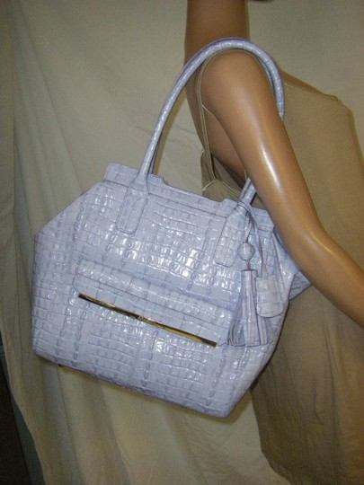 Brahmin Tucker Strada (Lilac) Melbourne J52626pr Hang Tags Attached But Does Not Include Registration Card Tote in PROVENCE