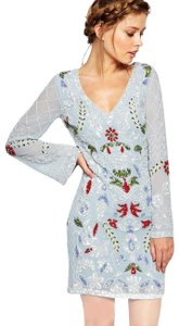 Frock and Frill Floral Cut-out Dress