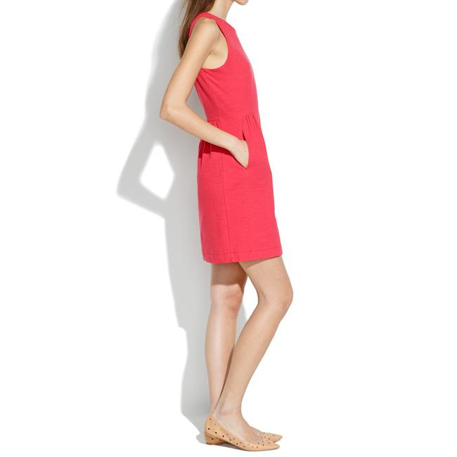 Madewell short dress Red Little Pockets on Tradesy