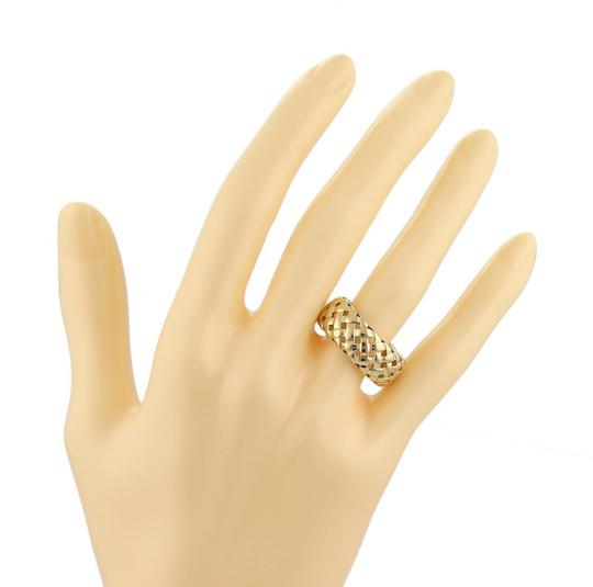 Tiffany & Co. Vannerie 18k Gold 8.5mm Band Ring