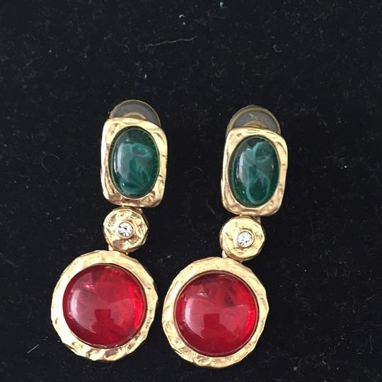 Kenneth Jay Lane Green And Red