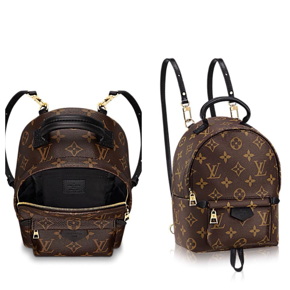 louis vuitton palm springs 2017 mini backpack sold out monogram canvas cross body bag. Black Bedroom Furniture Sets. Home Design Ideas
