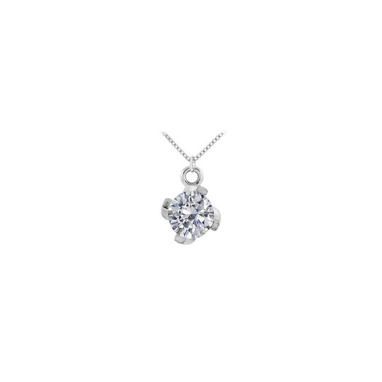 Preload https://img-static.tradesy.com/item/22555484/white-april-birthstone-cubic-zirconia-pendant-in-14kt-gold-100-ct-tgw-necklace-0-0-540-540.jpg