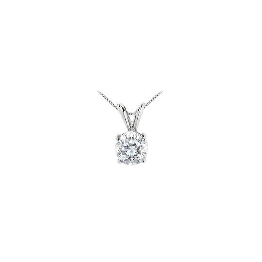 Preload https://img-static.tradesy.com/item/22555551/white-cubic-zirconia-solitaire-pendant-in-14k-gold-5-carat-round-cut-t-necklace-0-0-540-540.jpg
