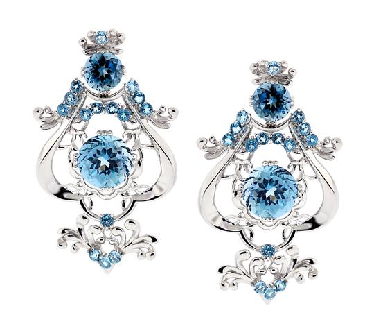 Preload https://img-static.tradesy.com/item/22555569/ny-collection-white-womens-blue-topaz-dangle-925-sterling-silver-1840-carats-earrings-0-0-540-540.jpg