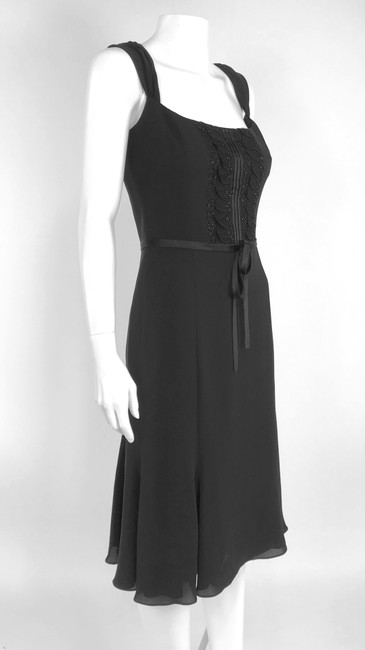 Escada Fit And Flare Fit & Flare Beaded Dress