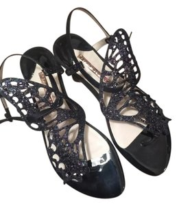 Sophia Webster Black Sandals