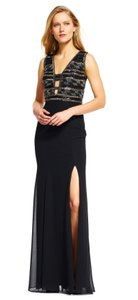 Adrianna Papell Lbd Beaded Party Classy Dress