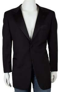 Trussini Wool Black Blazer