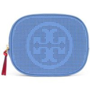 Tory Burch 34604 PERFORATED LOGO COSMETIC CASE