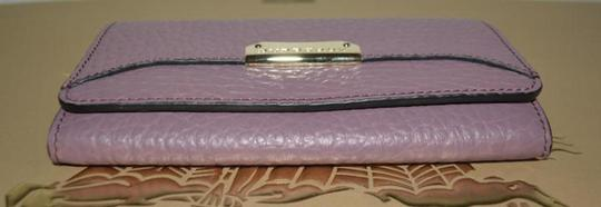 Burberry NWT BURBERRY WOMENS PENROSE LEATHER CONTINENTAL WALLET Image 5