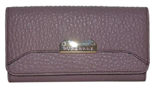 Burberry NWT BURBERRY WOMENS PENROSE LEATHER CONTINENTAL WALLET Image 9