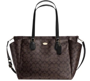 Coach BROWN /BLACK Diaper Bag