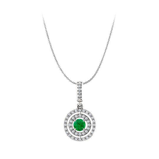 Preload https://img-static.tradesy.com/item/22556526/green-silver-emerald-and-cubic-zirconia-925-sterling-pendant-necklace-0-0-540-540.jpg