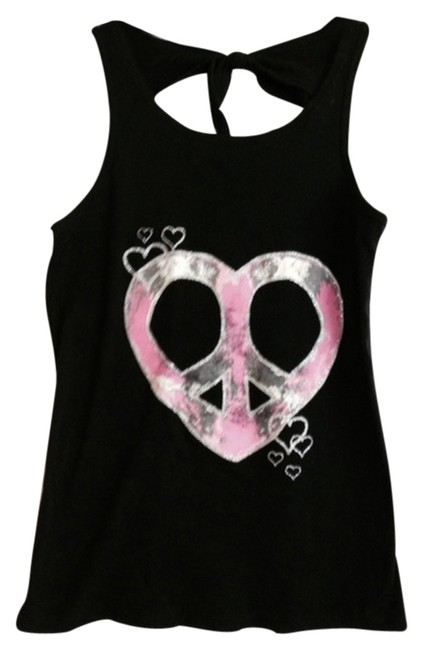 Preload https://item1.tradesy.com/images/black-and-pink-shirt-tank-topcami-size-14-l-2255690-0-0.jpg?width=400&height=650