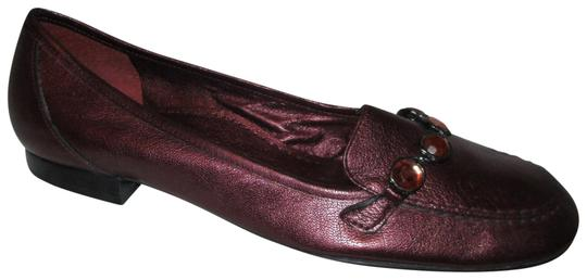 Preload https://img-static.tradesy.com/item/22556990/antonio-melani-burgundy-leather-loafer-flats-size-us-10-regular-m-b-0-1-540-540.jpg