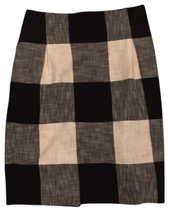 Club Monaco Skirt black and white