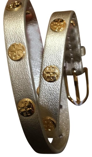 Preload https://img-static.tradesy.com/item/22557135/tory-burch-gold-new-with-tag-leather-double-wrap-bracelet-0-2-540-540.jpg