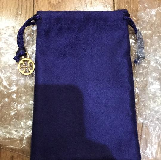 Tory Burch New with Tag gold leather double wrap bracelet