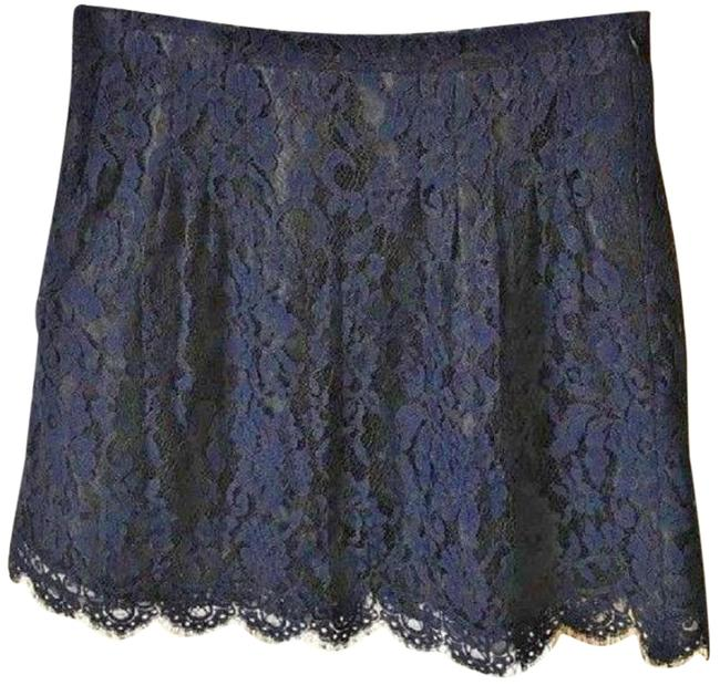 J.Crew Navy Lace A-line Skirt Size 2 (XS, 26) J.Crew Navy Lace A-line Skirt Size 2 (XS, 26) Image 1