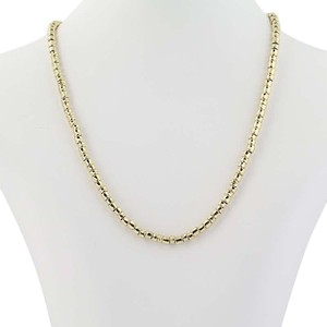 """Links of London Links of London Necklace 16 1/2"""" - 18k Yellow Gold Curved Beads Women'"""