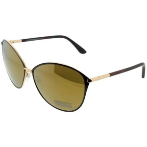 b78c82c44ea2a Tom Ford FT0320-F-28G Penelope Women Black Frame Brown Lens Genuine  Sunglasses -