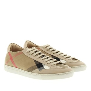Burberry Sneaker Hartfields House Check Size 38 LIGHT HONEY Flats