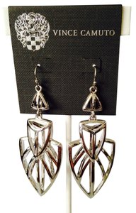 Vince Camuto NWOT Silver-Tone Statement Arrow Dangle Earrings