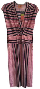 Tory Burch short dress Fucsia and Blue on Tradesy