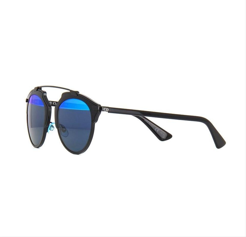 3506d0ecee2 Dior So Real Sunglasses Black And Blue