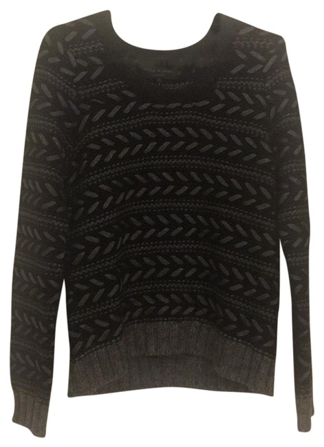 Preload https://img-static.tradesy.com/item/22558572/rag-and-bone-gray-black-gold-lisbeth-charcoal-crewneck-sweaterpullover-size-8-m-0-1-650-650.jpg