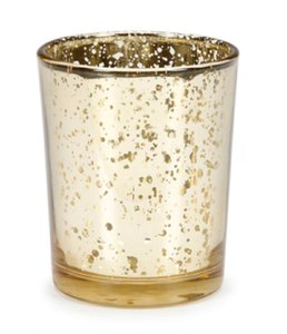 Ashland Gold Mercury Glass Holders Votives and Candles