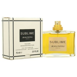 Jean Patou SUBLIME JEAN PATOU FOR WOMEN-EDT-75 ML-TESTER-FRANCE