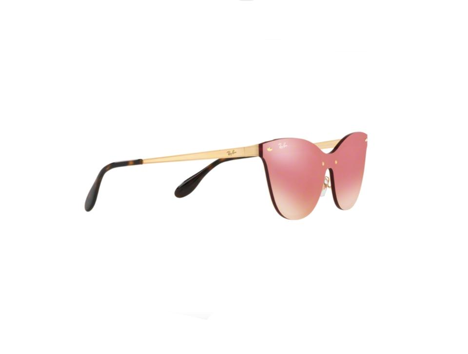 a9398a101f3 Ray-Ban Pink New Cat Eye Blaze 3580 -free 3 Day Shipping Sunglasses ...