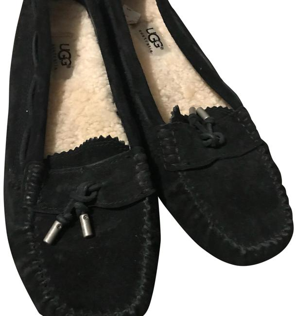 Item - Black Slipper Flats Size US 6.5 Regular (M, B)