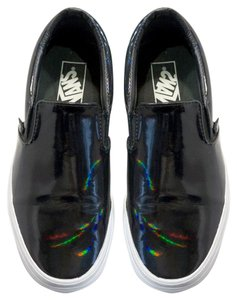 Vans Iridescent Gloss Athleasure Black Rainbow Athletic