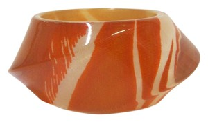 Kate Spade Kate Spade Orange Safari Print POP ART Bangle Bracelet