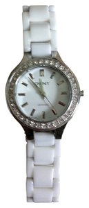 DKNY DKNY Porcelain White with Crystal Bezel Watch.