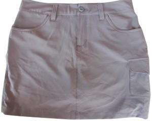 Eddie Bauer Khaki Mini Skirt green