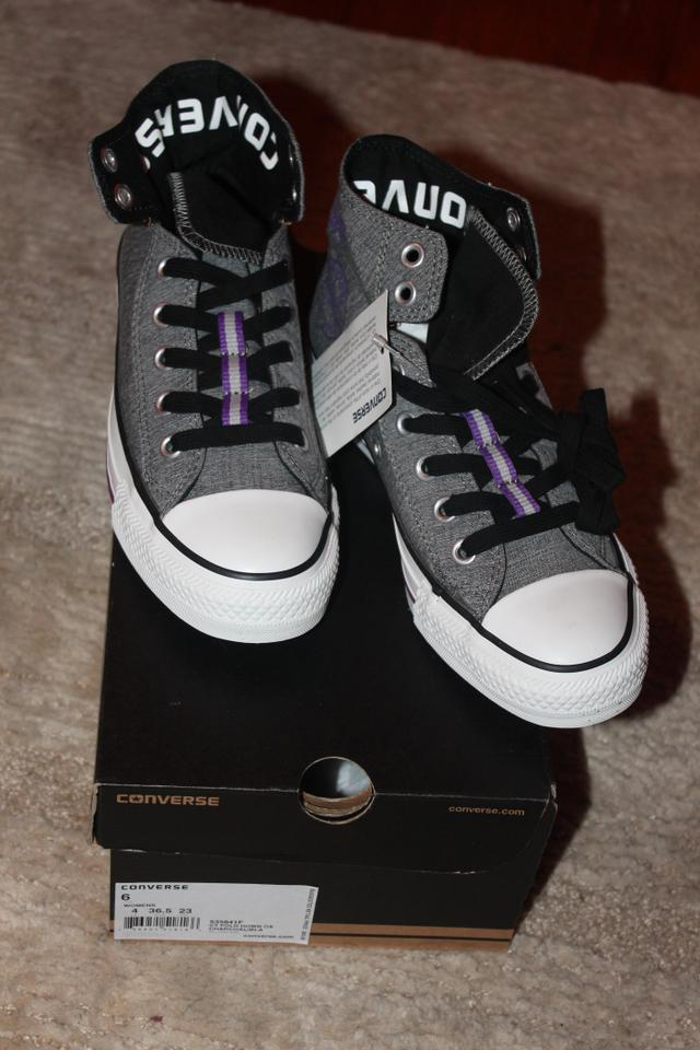 Charcoalblackpurple Sneakers Ox Us Ct Fold Down Size RegularmB45Off 535841f Converse 6 Retail BoxeCd